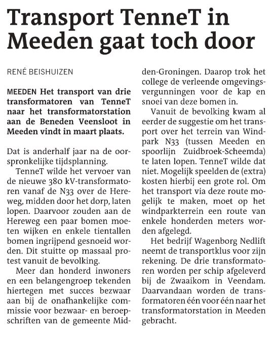 Transport Tennet in Meeden gaat toch door.JPG